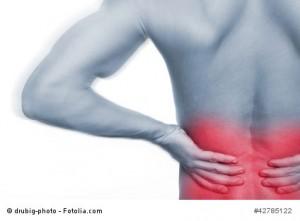 Hexenschuss - akute Schmerzen im Rücken