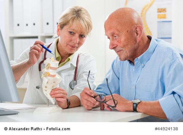 Bandscheiben Erklärung Arzt